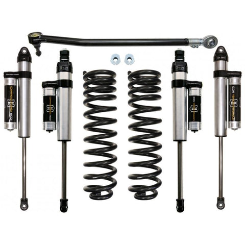 "'17-Current Ford F250/F350 4WD 2.5"" Suspension System- Stage 3 Suspension Icon Vehicle Dynamics"