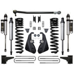 "'17-Current Ford F250/F350 4WD 4.5"" Suspension System-Stage 2 Suspension Icon Vehicle Dynamics"