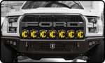 '17-Current Ford Raptor Impact Series KC PRO6 Light Bar Bracket Lighting Impact Series Off-Road Armor