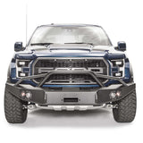 17-Current Ford Raptor Premium Winch Bumper Bumper Fab Fours
