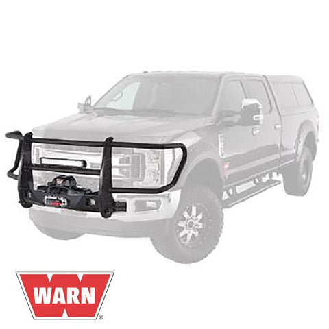 17-Current Ford SuperDuty Gen III Trans4mer Series Bolt On Full Grille Guard Winch Mount Warn Industries