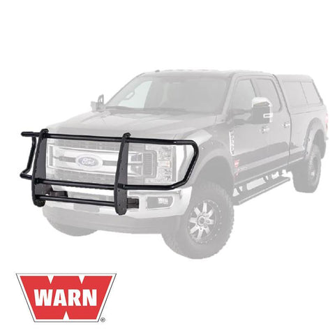 17-Current Ford SuperDuty Gen III Trans4mer Series Full Grille Guard (no winch mount) Winch Mount Warn Industries