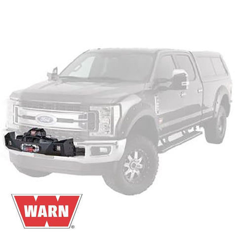 17-Current Ford SuperDuty Gen III Trans4mer Series Winch Carrier Kit Winch Mount Warn Industries