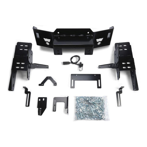 17-Current Ford SuperDuty Hidden Winch Mount Kit Winch Mount Warn Industries