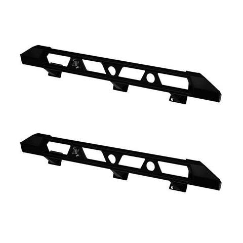 '18-Current Jeep JL 4DR Pro Series Frame Mount Slider Kit Bumper Impact Series Off-Road Armor