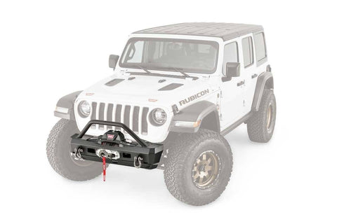 '18-Current Jeep JL Elite Series Stubby Bumper Bumper Warn Industries