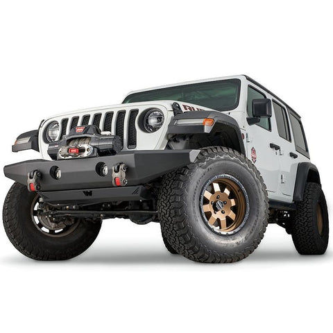 '18-Current Jeep JL Full-Width Crawler Front Bumper Bumper Warn Industries