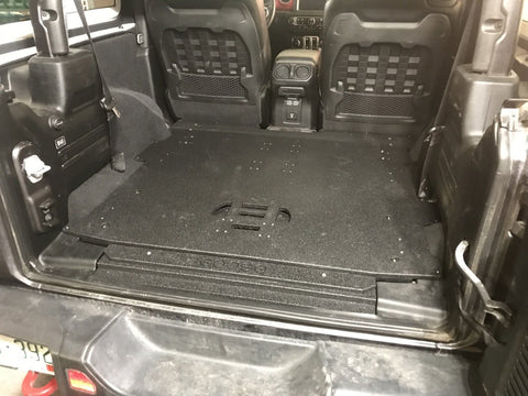 18-Current Jeep JL Plate System 2 Door Jeep Interior Accessoires Goose Gear