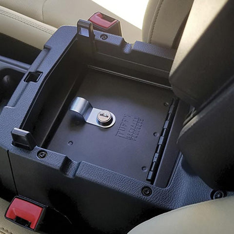 18-Current Jeep JL Security Console Insert Security Tuffy Security Products