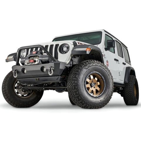 '18-Current Jeep JL Stubby Crawler Front Bumper Bumper Warn Industries