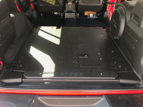 18-Current Jeep JLU Plate System Interior Accessoires Goose Gear
