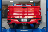 "'19-Current Chevy/GMC 1500 6.2L 2-1/2"" Cat Back, Dual Rear Exhaust, AL Exhaust Systems MBRP"