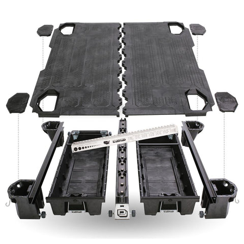 '19-Current Chevy/GMC 1500 Truck Bed Storage System Organization Decked