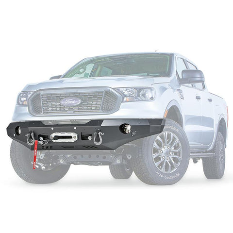 '19-Current Ford Ranger Ascent Series Front Bumper Bumper Warn Industries