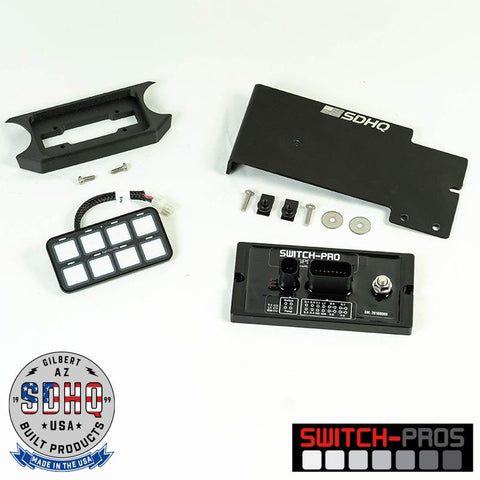 '19-Current Ford Ranger SDHQ Built Complete Switch Pros Mounting System Lighting SDHQ Off Road