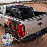 '19-Current Ford Ranger SDHQ Built In Bed Chase Rack Chase Rack SDHQ Off Road