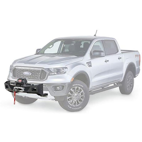 '19-Current Ford Ranger Trans4mer Series Base Winch Mounting System Winch Mount Warn Industries