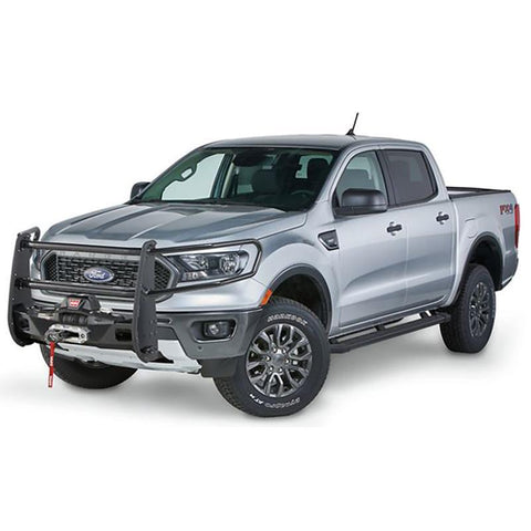 '19-Current Ford Ranger Trans4mer Winch Mount and Full Grille Guard Winch Mount Warn Industries