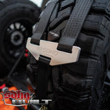 2 Inch Tire Straps for SDHQ Built in Bed Chase Racks Tie Downs Mac's Tie Down