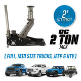 2 Ton Off Road Jack-ORJ2B Off-Road Jacks Pro Eagle Jacks