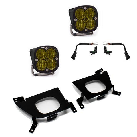 '20-Current Chevy/GM 2500/3500 SAE Fog Light Kit Lighting Baja Designs