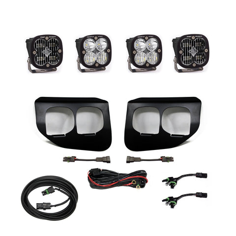 '20-Current Ford F250/350 Squadron Sport/SAE Dual Fog Light Kit Lighting Baja Designs