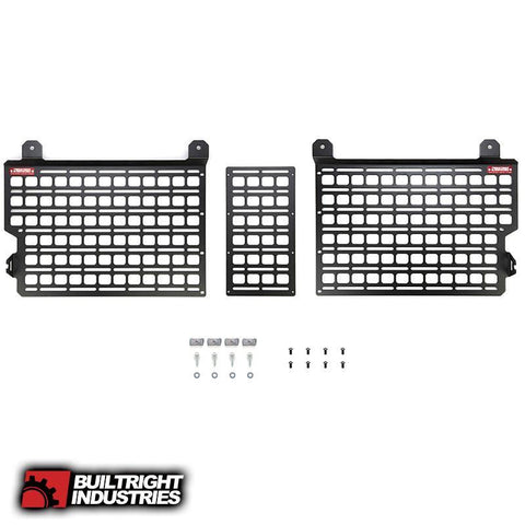 '20-Current Jeep Gladiator Bedside Rack System-Front Panel Bed Accessory BuiltRight Industries