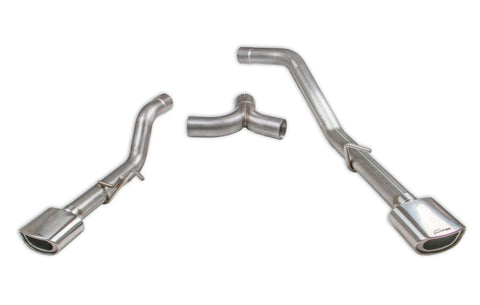 "'20-Current Jeep Gladiator (JT) 3.6L V6 2.5"" Dual Exit Exhaust Kit Exhaust Systems Hooker Blackheart"