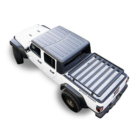 '20-Current Jeep Gladiator (JT) Slimline II Load Bed Rack Kit Roof Rack Front Runner