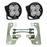 '20-Current Jeep JT Gladiator Fog Light Pocket Kit Lighting Baja Designs