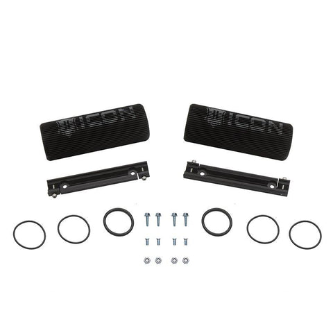 "2.5 Series Shock 7.5"" Finned Reservoir Upgrade Kit Suspension Icon Vehicle Dynamics"