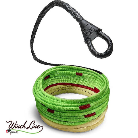 "3/8"" Synthetic Winch Line Recovery Accessories Bubba Rope"