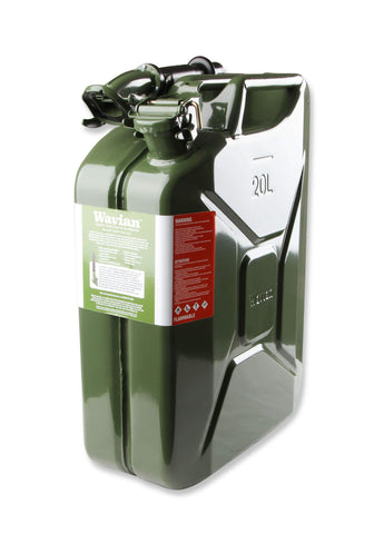 5.3 Gallon (20 Liter) Jerry Can Fuel Jug-Jerry Can Anvil Off-Road