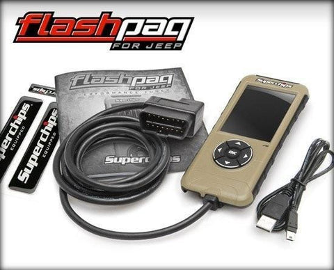 '97-14 Jeep F5 Flashpaq-3874 Electrical Superchips