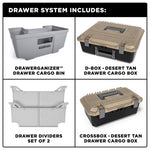 '99-18 Chevy/GMC 1500 Truck Bed Storage System Organization Decked