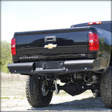 '99-19 Chevy/GMC 2500/3500HD Elite Black Steel Series Rear Bumper Bumper Fab Fours
