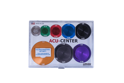 "ACU Center Tool Kit-1/4-1"" Tools All German Motorsports"