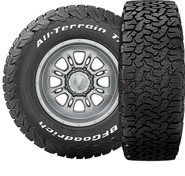 All Terrain T/A KO2 Tires BFG Tires