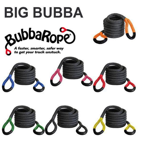 "Big Bubba Recovery Rope 1-1/4"" Diameter Recovery Accessories Bubba Rope"