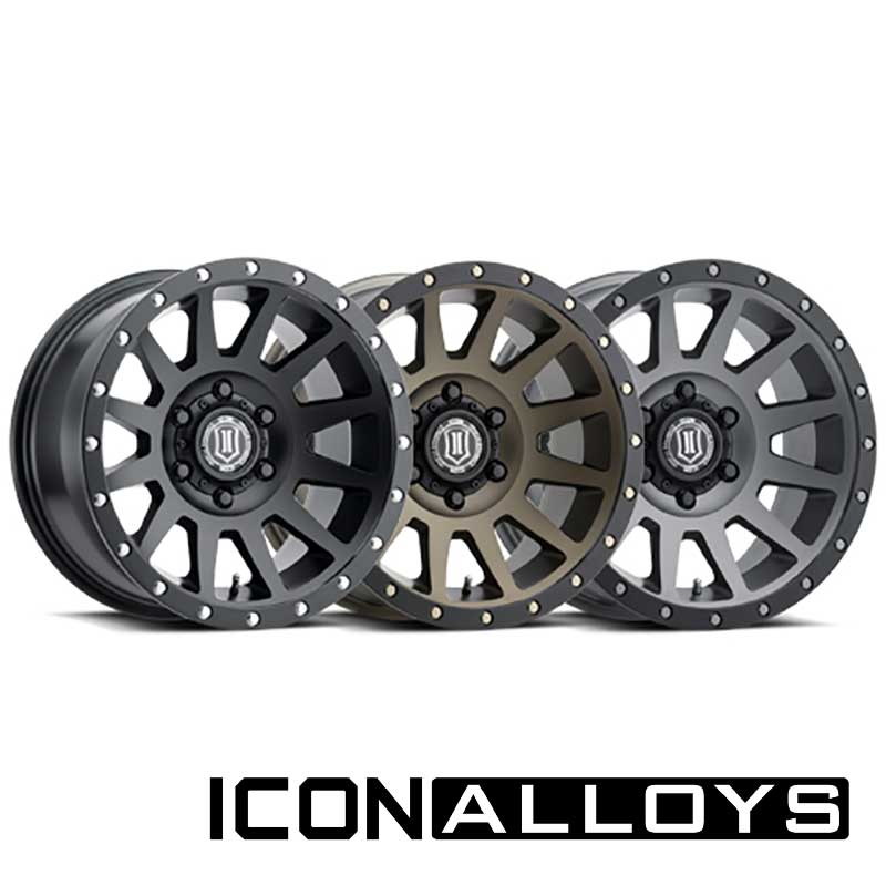 "Icon Alloys - Compression | 18"" Wheel"
