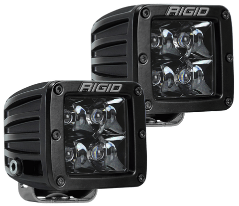D-Series PRO Midnight Edition Pod LED Light-Pair Lighting Rigid Industries