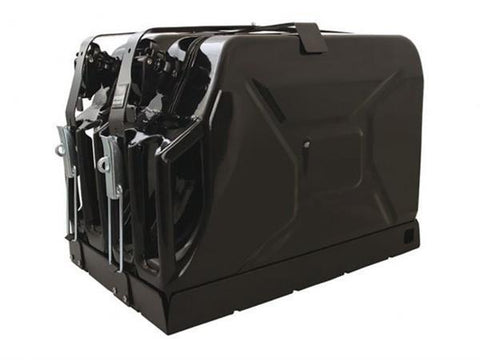 Double Jerry Can Holder Roof Racks Front Runner