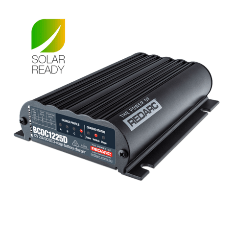 Dual Input 25A In-Vehicle DC Dual Battery Charger Electrical Redarc
