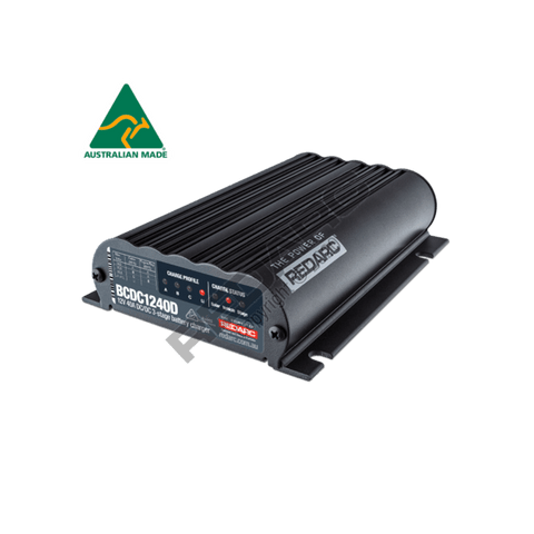 Dual Input 40A In-Vehicle DC Dual Battery Charger Electrical Redarc