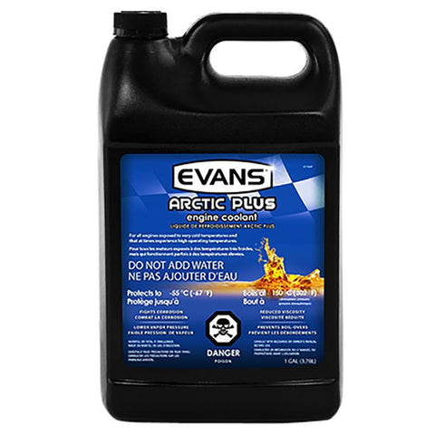 Evans Arctic Plus Engine Coolant Oils, Greases , Additives Evans Water Coolant