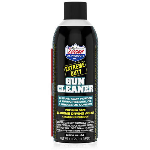 Extreme Duty Gun Cleaner-10905 Oils and Grease Lucas Oil