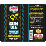 Extreme Duty Gun Oil 1oz.-10875 Oils and Grease Lucas Oil