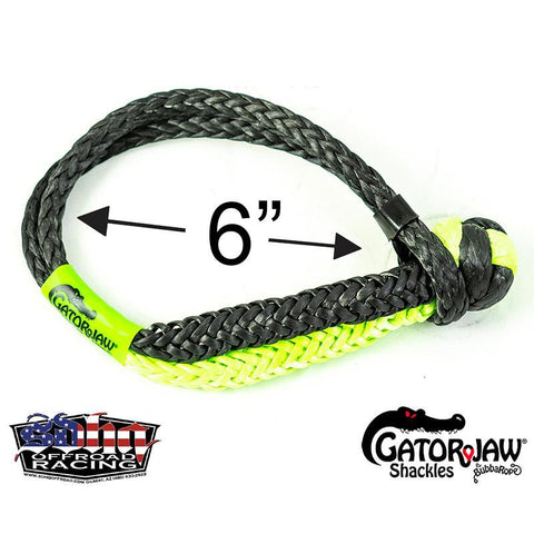 Gator Jaw NEXGEN PRO Synthetic Shackle Recovery Accessories Bubba Rope