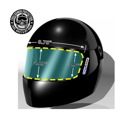 Helmet Shield Protection Kit-Generic Safety Equipment Cruz Armor