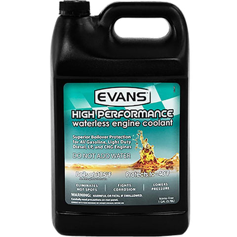 High Performance Coolant Oils, Greases , Additives Evans Water Coolant